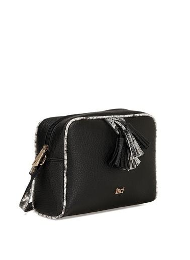 İnci Laptop /Evrak Çantası Siyah